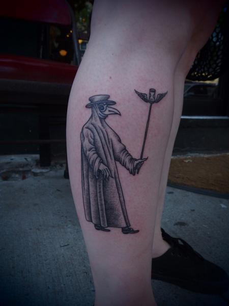 Dotwork Tattoo by Papanatos Tattoos