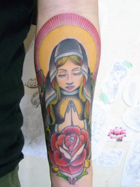Arm Religiös Tattoo von Daichi Tattoos & Artworks