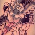 Flower Side tattoo by Supakitch