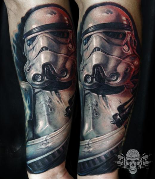 Arm Fantasy Star Wars Tattoo by Tattooed Theory