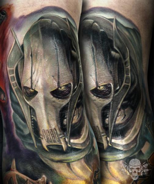 Arm Fantasy Tattoo by Tattooed Theory