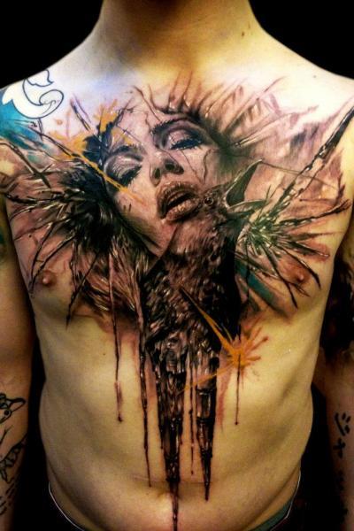 tattoos frauen bauch