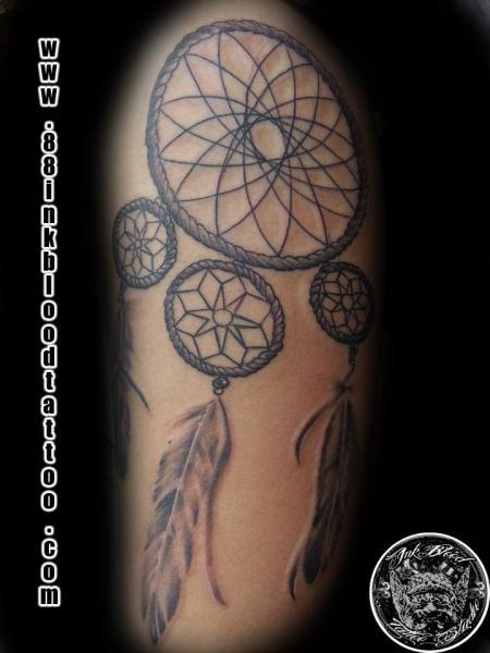 Tatuaje Brazo Atrapasueños Por 88ink Blood Tattoo Studio