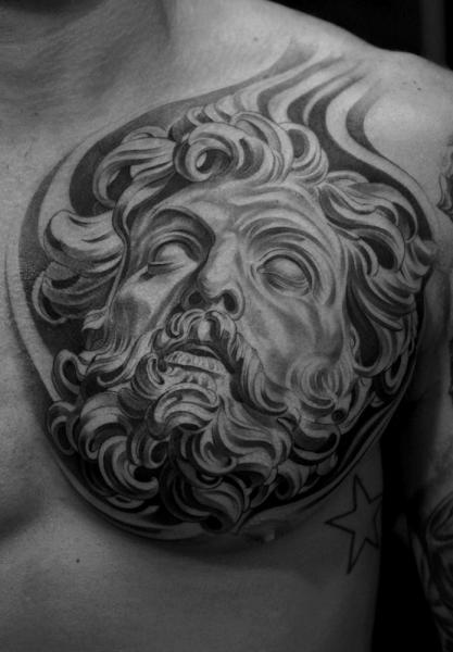 Tatouage Coffre Zeus Par Jun Cha