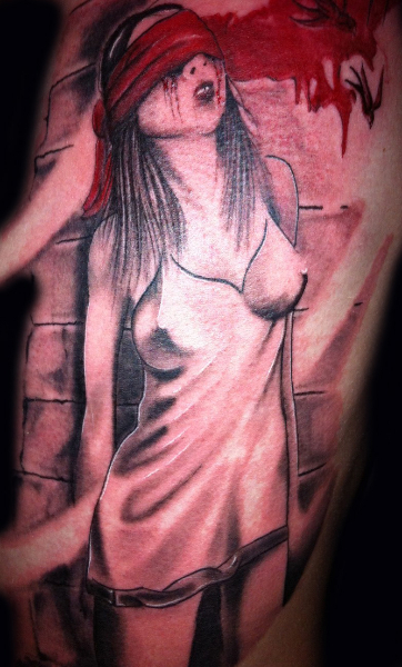 Women Blood Tattoo by Tattoo Studio 73