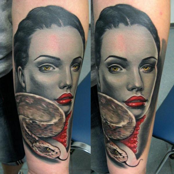 Arm Snake Women Tattoo by Rock Tattoo