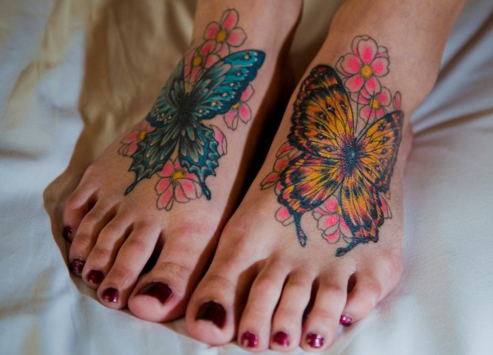Fuß Tattoo von Kings Avenue