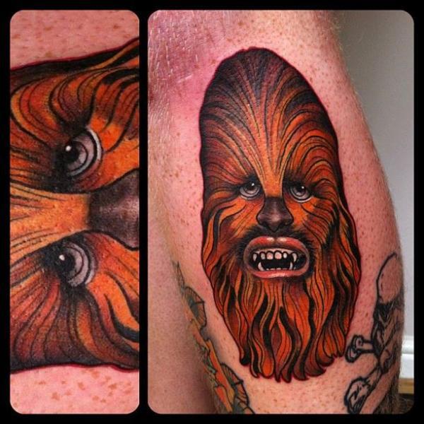 Arm Star Wars Chewbacca Tattoo von Marked For Life