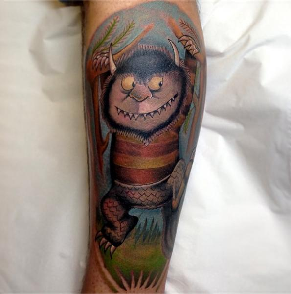 Arm Fantasie Monster Tattoo von Marked For Life