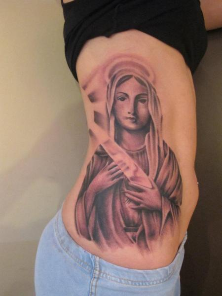 Tatuaje Lado Religioso por Marked For Life
