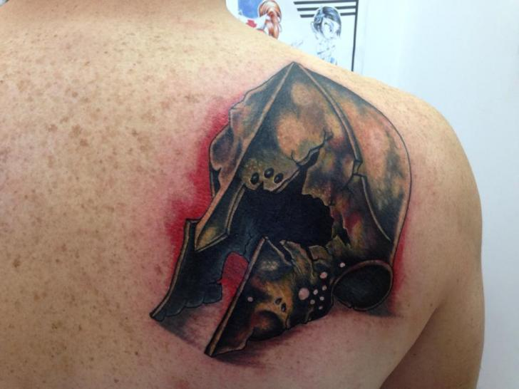 Shoulder Tattoo by Dr Mortiis Tattoo Clinic