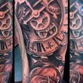 tatuaggio Orologio Fiore di Underworld Tattoo Supplies