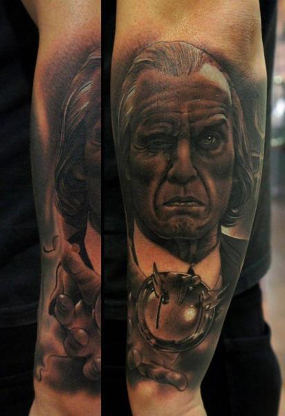 Arm Portrait Tattoo by Fredy Tattoo