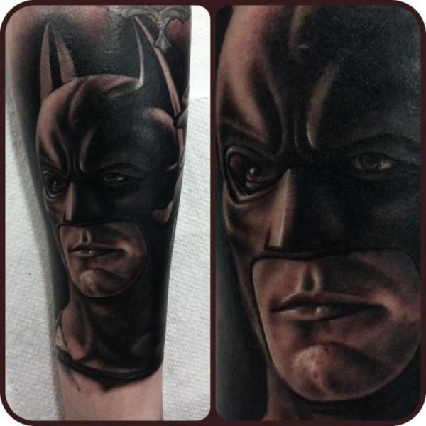Tatuaggio Braccio Fantasy Batman di Pete the Thief