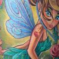 Fantasy Fairy tattoo by Electrographic Tattoo