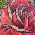 Blumen Hand Rose tattoo von Electrographic Tattoo