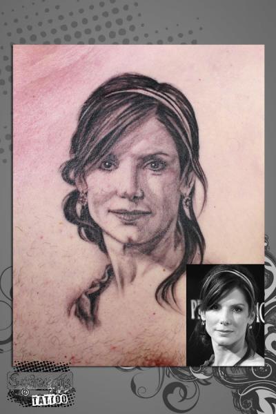 Portrait Realistic Tattoo by Synergik Tattoo