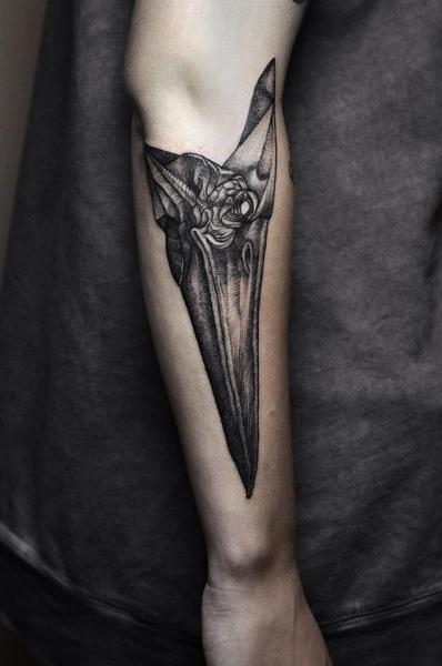 Tatuaje Brazo Dotwork por Rock n Ink Tattoo