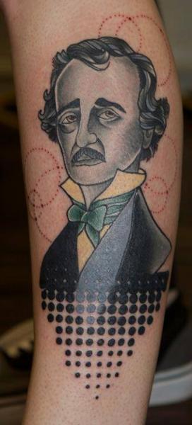 Arm Porträt Tattoo von Last Angels Tattoo