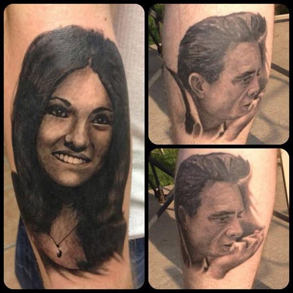 Arm Portrait Realistic Tattoo by Last Angels Tattoo