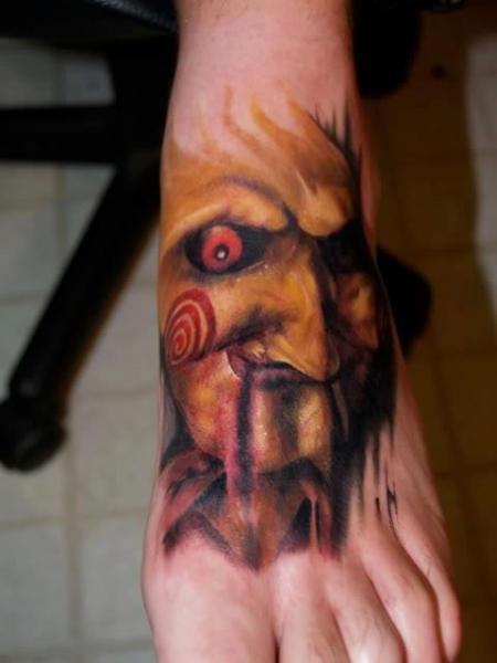 Fantasy Foot Saw Tattoo by Last Angels Tattoo