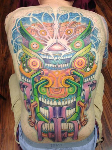 Back Tattoo by Anthony Ortega