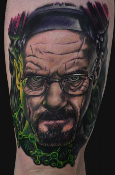 Arm Realistic Breaking Bad Tattoo by Jamie Lee Parker