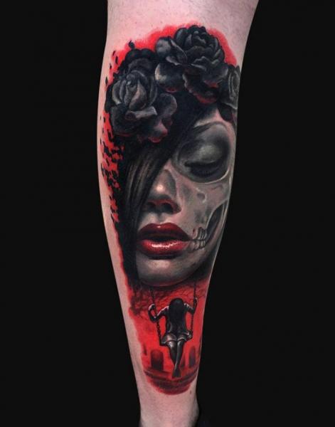 Arm Tattoo by Jamie Lee Parker