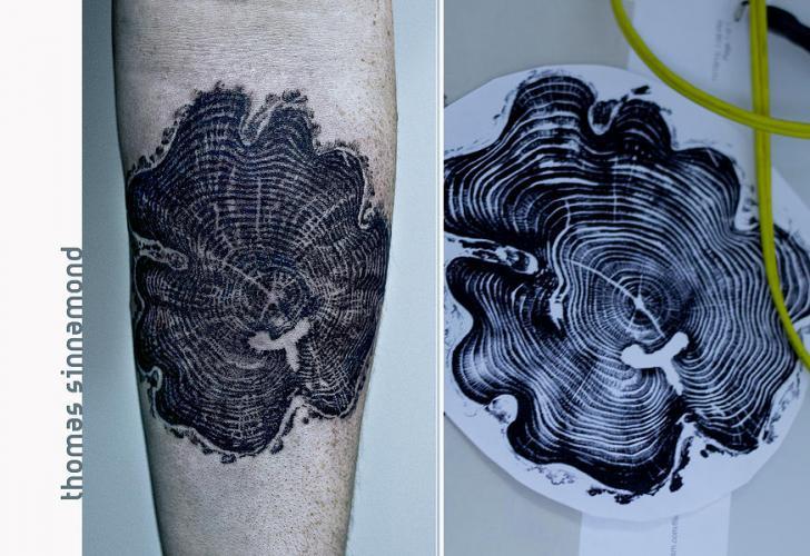 Tatuaje Brazo Árbol por Thomas Sinnamond