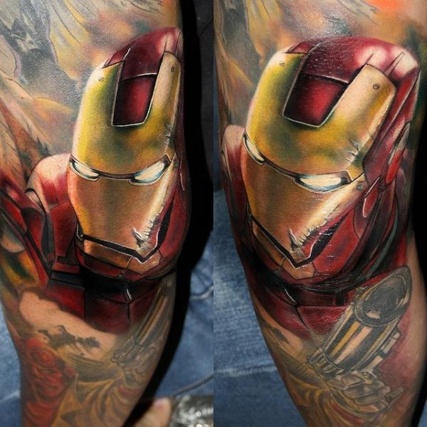 Tatuaje Fantasy Ironman por Carlox Tattoo