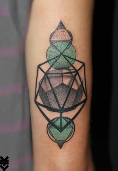 Tatuaggio Braccio Geometrici di On Point Tattoo