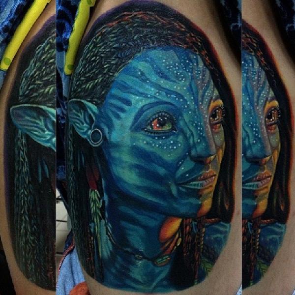 Fantasy Avatar Tattoo by Inkaholik Tattoos