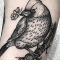 Arm Bird tattoo by Sacred Art Tattoo