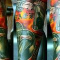 Music Sleeve tattoo by Sacred Art Tattoo