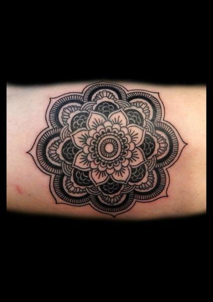 Arm Geometric Tattoo by Blacksheep Ink