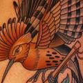 Shoulder Bird tattoo by Dave Wah