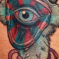 Arm Eye Ostrich tattoo by Stefan Semt