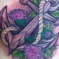 Seite Anker tattoo von Stefan Semt