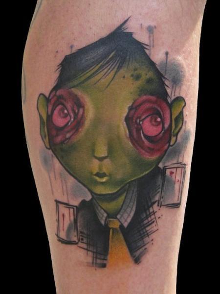 Fantasie Charakter Tattoo von Signs and Wonders