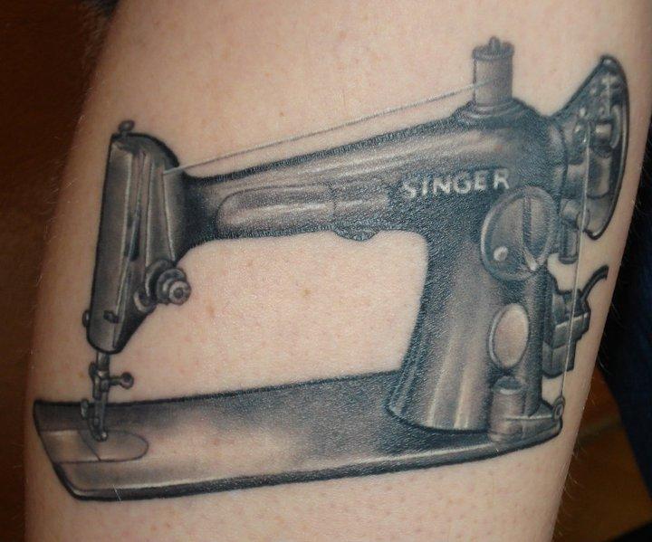 Arm Realistic Singer Tattoo by Ten Ten Tattoo