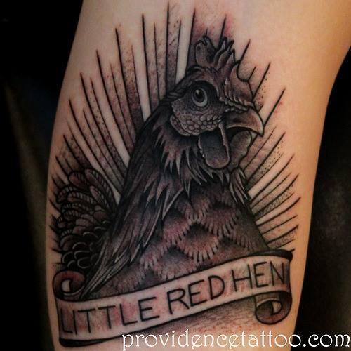 Tatuaje Tostador por Providence Tattoo studio