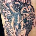 tatuaggio Fianco Gorilla di Vienna Electric Tattoo