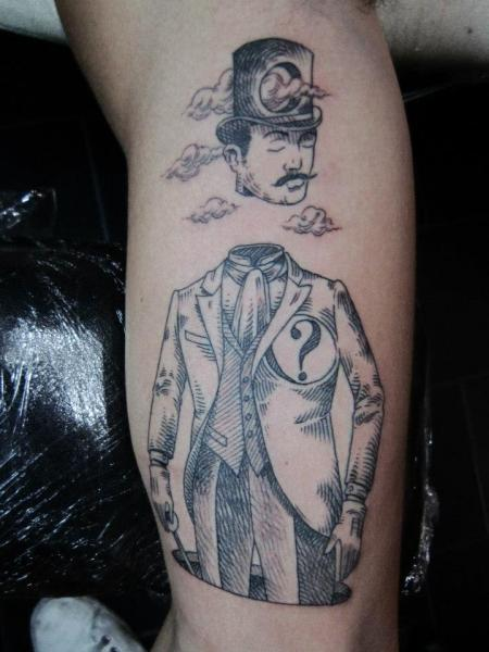 Arm Männer Tattoo von Ottorino d'Ambra