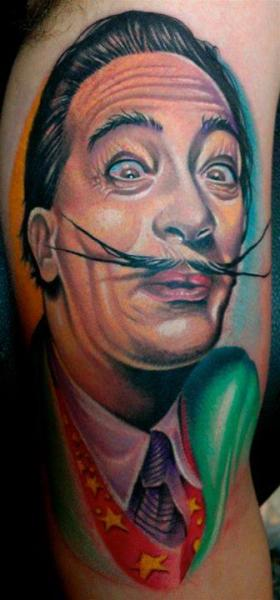 Arm Portrait Tattoo by Forever Tattoo