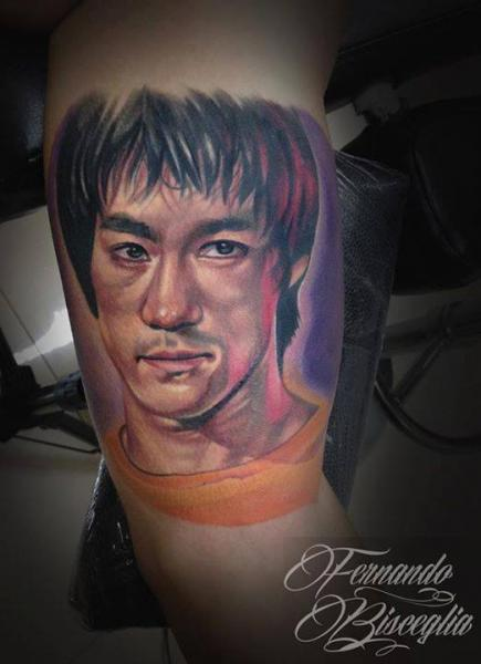 Arm Portrait Realistic Tattoo by Forever Tattoo