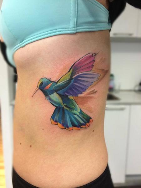 Seite Vogel Tattoo von Mefisto Tattoo Studio