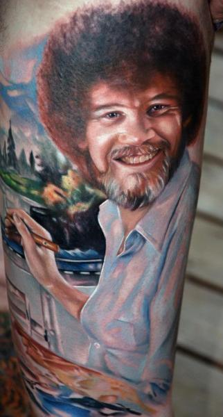 Arm Porträt Realistische Tattoo von Distinction Tattoo