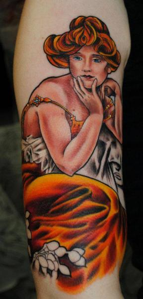 Arm Woman Tattoo by Distinction Tattoo
