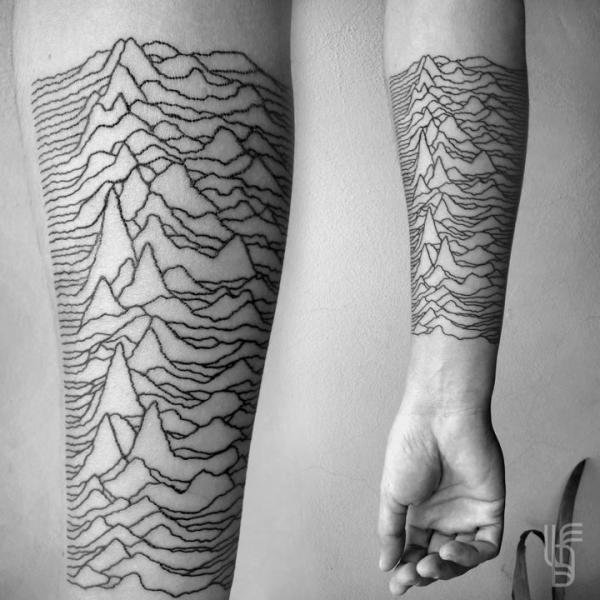 Arm Abstrakt Tattoo von Luciano Del Fabro