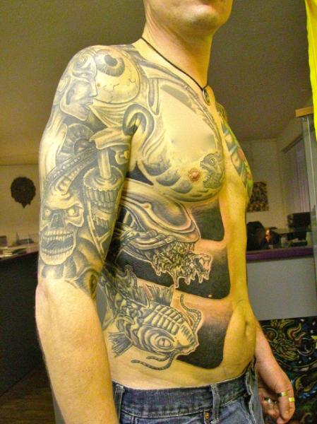 Arm Körper Tattoo von Body Cult
